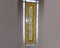 Etched & Leaded Glass Stained Glass Side Lite