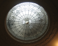 Etched & Leaded Glass Leaded Glass Skylight