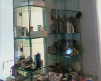 Specialty Glass All Glass Bookcase